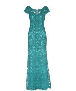 Tadashi Shoji | Приталенное Кружевное Платье В Пол