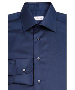 Brioni | Классическая Сорочка Из Смеси Хлопка И Шелка