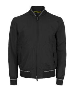 Canali | Куртка-Бомбер Из Смеси Хлопка И Шелка