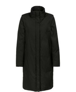 DKNY | Утепленное Пальто Прямого Кроя С Карманами И Высоким Воротником
