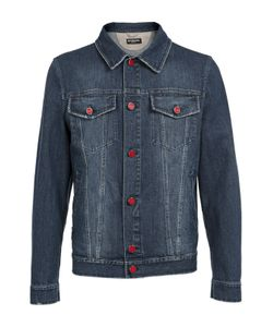 Kiton | Джинсовая Куртка С Контрастными Пуговицами