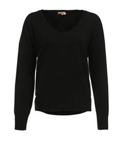 BACK LABEL   Кашемировый Пуловер Свободного Кроя С Круглым Вырезом