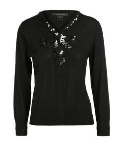 Marc Jacobs | Шерстяной Пуловер С V-Образным Вырезом И Пайетками