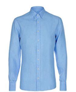 Andrea Campagna | Льняная Рубашка С Воротником Таб