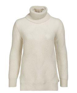 Colombo   Кашемировый Пуловер Фактурной Вязки С Высоким Воротником