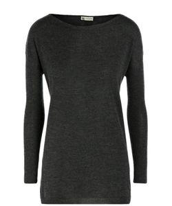 Colombo   Удлиненный Кашемировый Пуловер С Вырезом-Лодочка