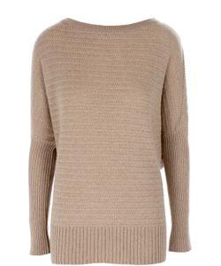 Ralph Lauren | Удлиненный Кашемировый Пуловер Со Спущенным Рукавом