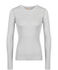 Michael Kors | Облегающий Пуловер С Круглым Вырезом И Металлизированной Отделкой