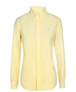 Polo Ralph Lauren | Приталенная Блуза С Вышитым Логотипом Бренда