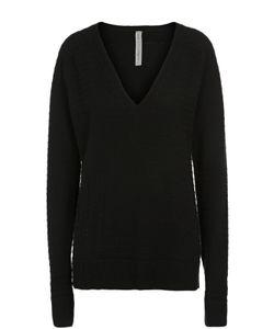 Raquel Allegra | Пуловер Свободного Кроя С V-Образным Вырезом