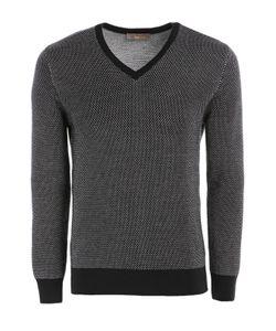 Cruciani | Шерстяной Пуловер С Контрастными Манжетами