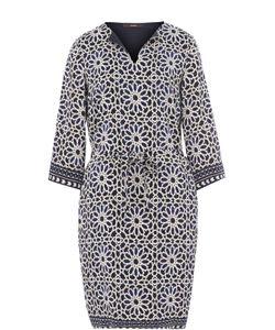Windsor | Приталенное Мини-Платье С Принтом