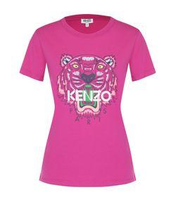 Kenzo | Хлопковая Футболка С Контрастным Принтом
