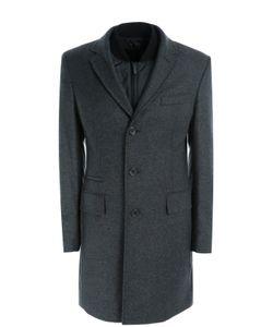 BOSS | Пальто Из Смеси Шерсти И Кашемира С Подстежкой Hugo Boss Black