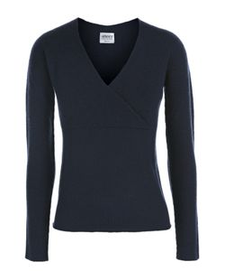 Armani Collezioni | Шерстяной Пуловер С V-Образным Вырезом