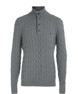 Polo Ralph Lauren | Свитер Фактурной Вязки Из Смеси Шелка И Хлопка
