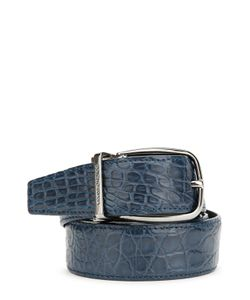 Dolce & Gabbana | Ремень Из Кожи Крокодила