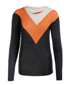 Stella Mccartney | Пуловер С Круглым Вырезом И Контрастным Принтом