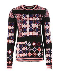 Emilio Pucci | Пуловер Прямого Кроя С Ярким Принтом И Круглым Вырезом