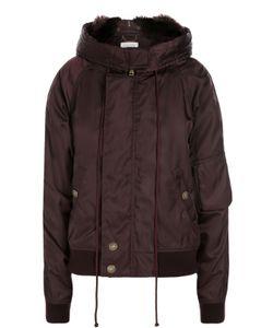 Chloe | Утепленная Куртка С Капюшоном И Меховой Отделкой Chloé