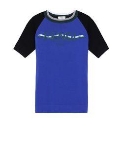 Fendi | Футболка Прямого Кроя С Логотипом Бренда И Круглым Вырезом