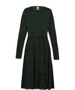 Missoni | Вязаное Платье-Миди Без Рукавов M