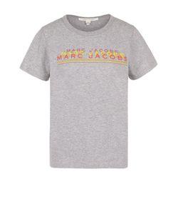 Marc Jacobs | Хлопковая Футболка С Контрастными Надписями
