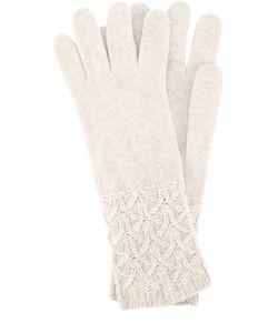 Johnstons Of Elgin | Перчатки Из Кашемира С Фактурным Узором