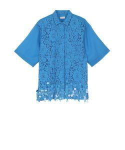 Dries Van Noten | Кружевная Блуза С Пайетками И Полупрозрачной Спинкой