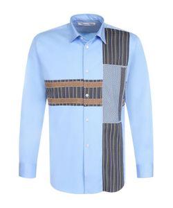 Comme Des Garcons | Хлопковая Рубашка С Контрастной Отделкой