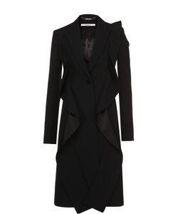 Givenchy | Приталенное Пальто С Оборками