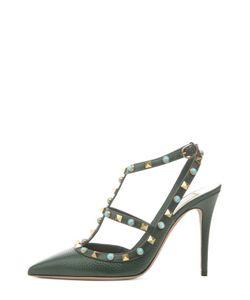 Valentino | Кожаные Туфли Rockstud Rolling На Шпильке