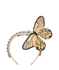 Dolce & Gabbana | Ободок С Декоративной Отделкой В Виде Бабочки