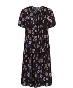Armani Collezioni | Мини-Платье Прямого Кроя С Цветочным Принтом