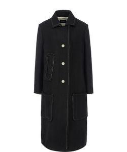Isabel Marant | Пальто Прямого Кроя С Накладными Карманами