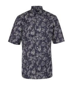 Lanvin | Хлопковая Рубашка С Короткими Рукавами