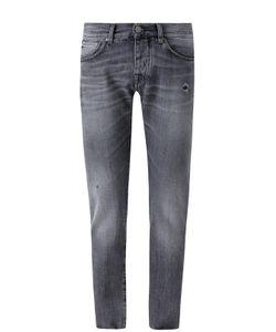 2 Men | Джинсы Прямого Кроя С Потертостями Jeans