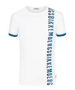 Bikkembergs | Хлопковая Футболка С Круглым Вырезом И Контрастной Отделкой Dirk