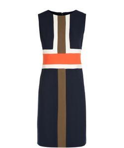 Diane Von Furstenberg | Платье Футляр Без Рукавов С Геометрическим Принтом