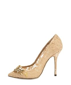 Dolce & Gabbana | Кружевные Туфли Belucci С Декором