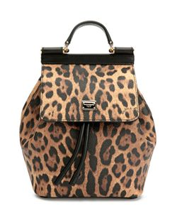 Dolce & Gabbana | Рюкзак Sicily С Леопардовым Принтом