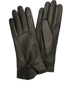 Sermoneta Gloves | Кожаные Перчатки С Декором