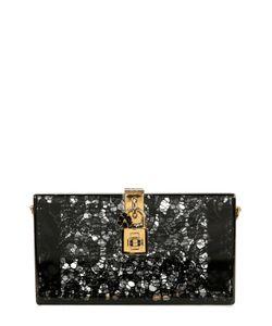 Dolce & Gabbana | Клатч Dolce Box С Кружевом