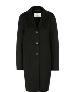 Acne | Шерстяное Пальто Прямого Кроя