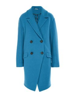 Diane Von Furstenberg | Шерстяное Двубортное Пальто С Карманами