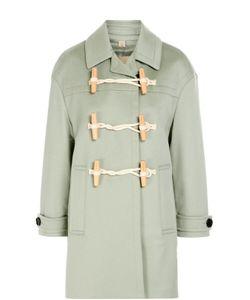 Burberry Brit | Кашемировое Пальто С Поясом И Укороченным Рукавом