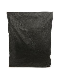 Isabel Benenato | Кожаный Рюкзак С Отделкой Из Льна