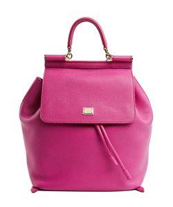 Dolce & Gabbana | Кожаный Рюкзак С Клапаном Sicily Backpack