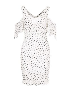 Mcq Alexander Mcqueen | Мини-Платье В Горох С Открытыми Плечами