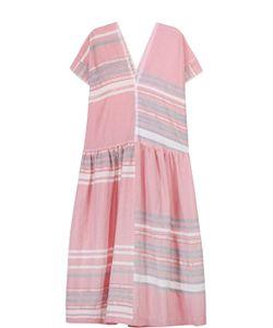 Lemlem | Хлопковое Платье Свободного Кроя В Полоску